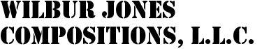 Wilbur Jones Compositions, LLC. Storefront